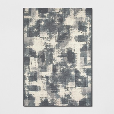 7'X10' Tufted Splatter Area Rug Gray - Project 62™
