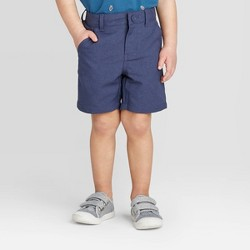 Toddler Boys' Quick Dry Chino Shorts - Cat & Jack™ Navy