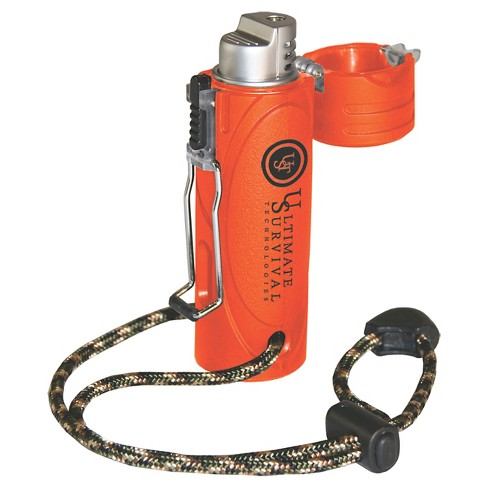 UST Trekker Stormproof Lighter, Orange - image 1 of 2