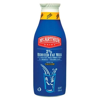 McArthur Dairy 2% Milk - 1qt