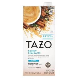 Tazo Skinny Latte Chai Black Tea - 32 fl oz