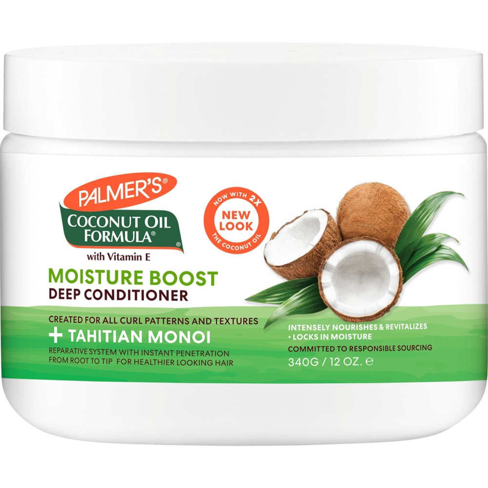 Palmer 39 S Coconut Oil Formula Moisture Boost Deep Hair Conditioner 12 Fl Oz