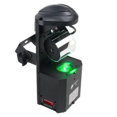 American DJ ADJ Inno Pocket Roll 12W LED DMX Mini Barrel Mirrored Scannner Light