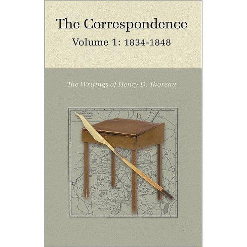 The Correspondence of Henry D. Thoreau - by  Henry David Thoreau (Hardcover) - image 1 of 1