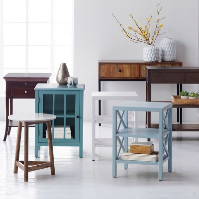 Owings Console Table With 2 Shelf And Drawers - Threshold™ : Target