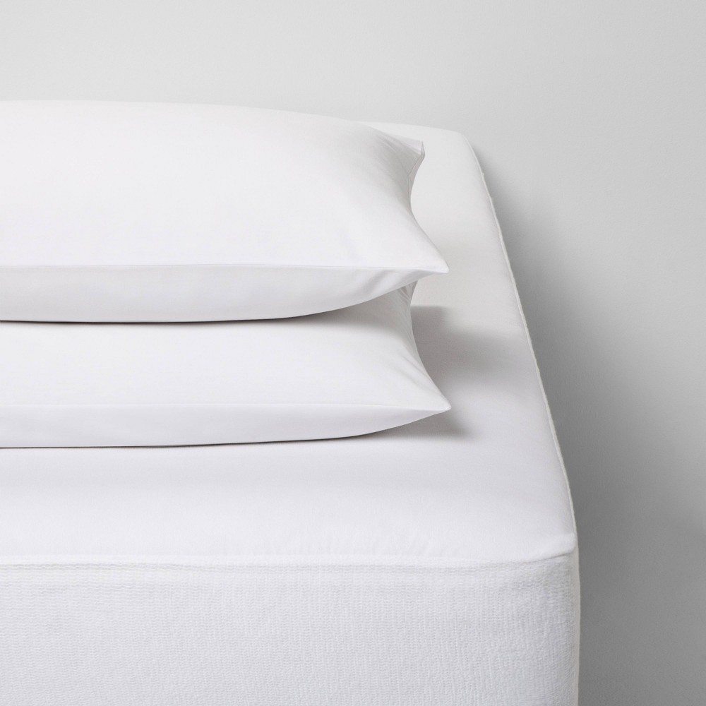 Image of Full Bed Protector Set White - Made By Design
