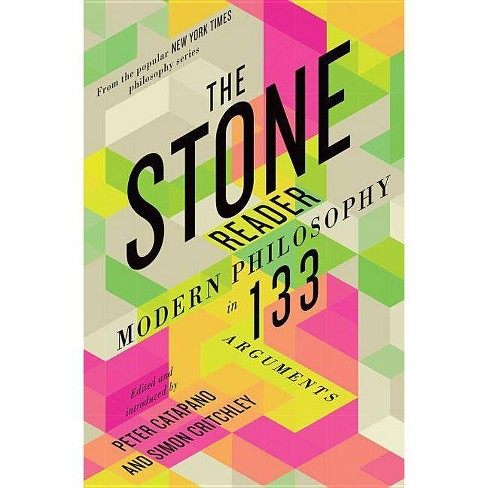 The Stone Reader - by  Peter Catapano & Simon Critchley (Hardcover) - image 1 of 1