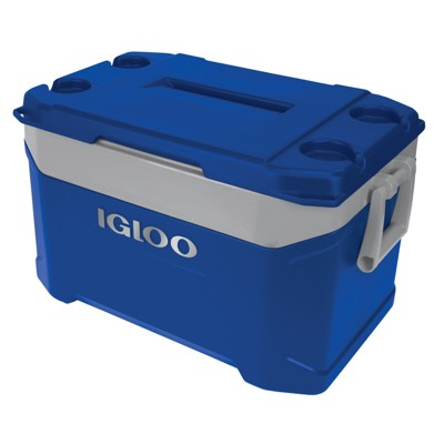 Igloo Latitude 50qt Cooler - Majestic Blue