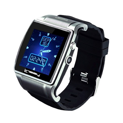 "Linsay Executive Smartwatch 1.5"" - Silver/Black - image 1 of 3"