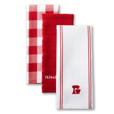KitchenAid 3pk Mixer Kitchen Towels