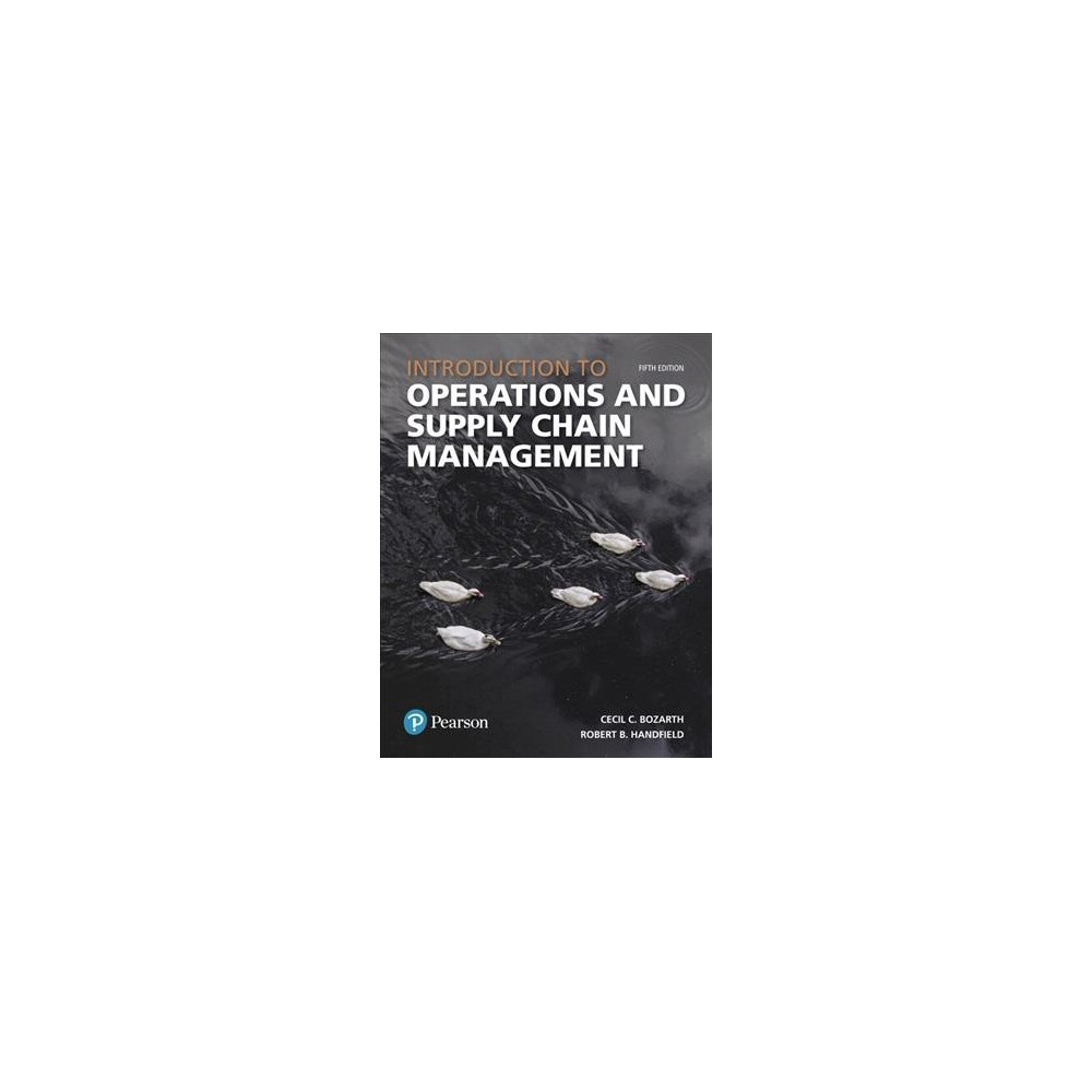 Introduction to Operations and Supply Chain Management - (Hardcover)