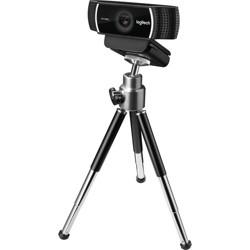 Logitech C922 Webcam - 2 Megapixel - 60 fps - USB 2.0 - 1920 x 1080 Video - Auto-focus - Microphone - Computer, Smartphone