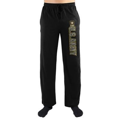 Army Camo Logo Print Men's Loungewear Lounge Pants