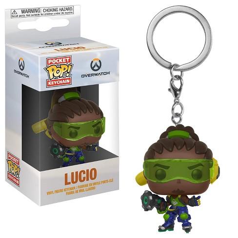 Funko Pop Keychain: Overwatch - Lucio Collectible Figure, Multicolor - image 1 of 1