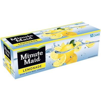 Minute Maid Lemonade - 12pk/12 fl oz Cans