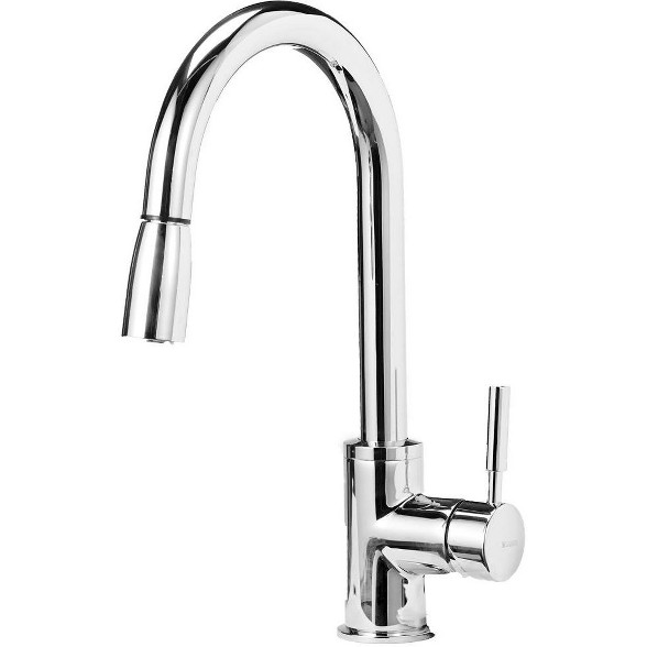 Blanco 441648 Sonoma Pullout Spray High-Arc Kitchen Faucet ...