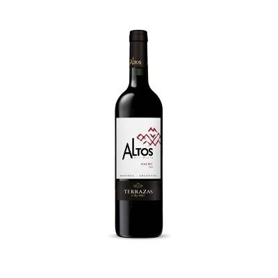 Terrazas de los Andes Altos del Plata Malbec Red Wine - 750ml Bottle