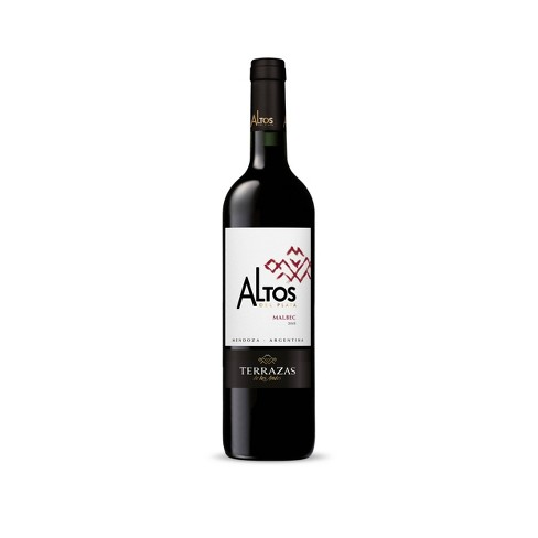 Terrazas De Los Andes Altos Del Plata Malbec Red Wine 750ml Bottle
