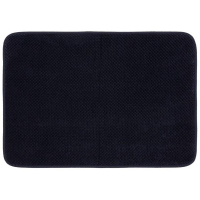 24 x40  Bubble Memory Foam Bath Rugs & Mats Xavier Navy - Threshold™
