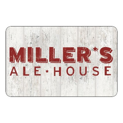 Miller's Ale House $25 (Email Delivery)