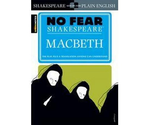 Sparknotes Macbeth (Paperback) (William Shakespeare) - image 1 of 1