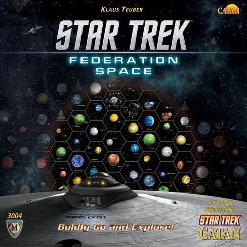 Star Trek Catan: Federation Space Board Game - image 1 of 4