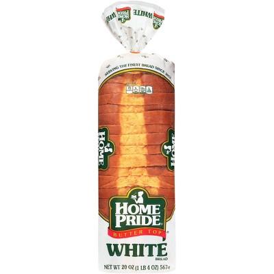 Home Pride White Sliced Bread - 20oz