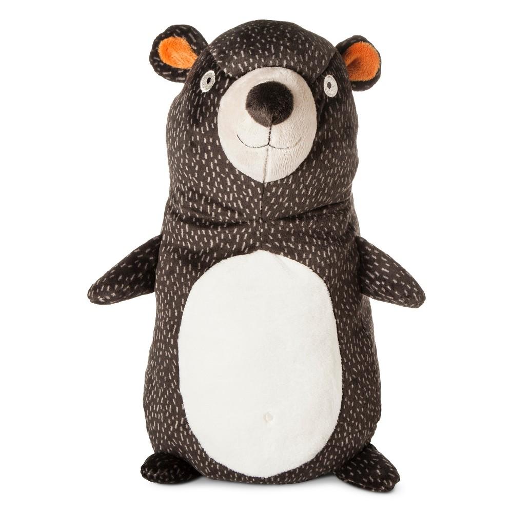 Image of Stuffed Bear Character Throw Pillow - Pillowfort