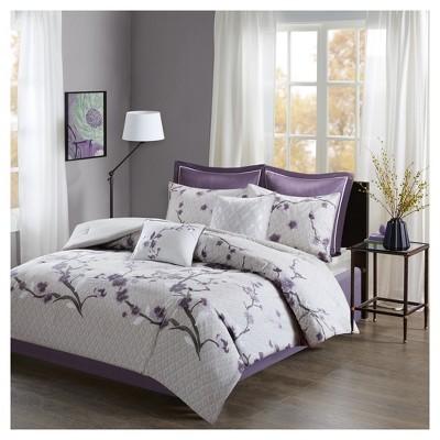 Sakura Cotton Comforter Set 8pc