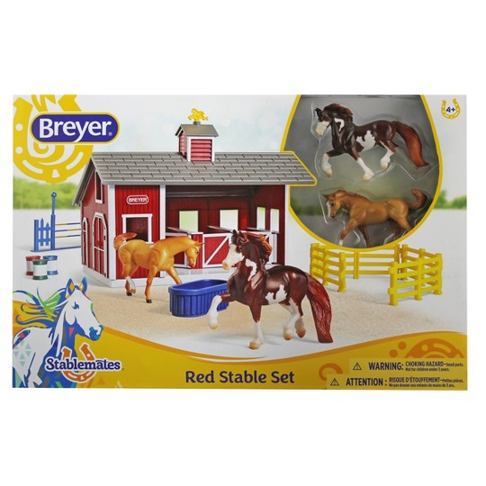 Breyer Red Stable Set, animal figures image number null