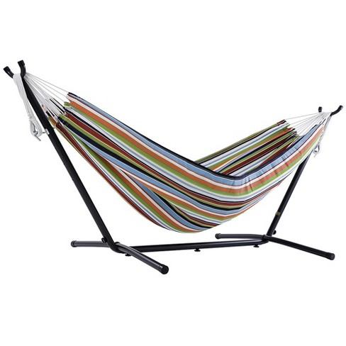 Vivere 9ft Sunbrella Hammock with Stand - image 1 of 4