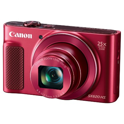 Canon® PowerShot SX620 HS Camera - Red (1073C001)