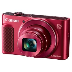 Canon PowerShot SX620 HS Camera - Red (1073C001)