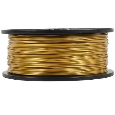 Monoprice Premium 3D Printer Filament PLA 1.75mm 1kg/spool  Gold