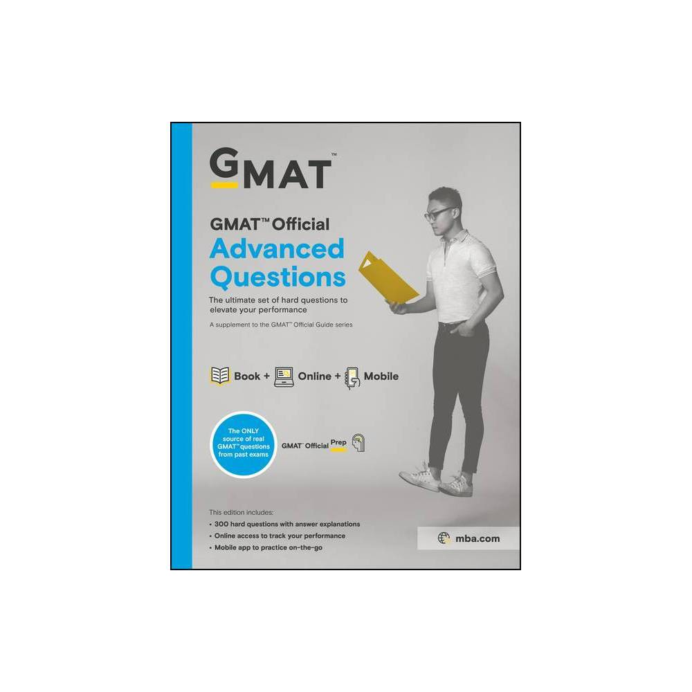 GMAT Official Advanced Questions - (Paperback)