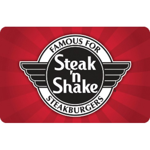 Steak 'N Shake $25 (Email Delivery) - image 1 of 1