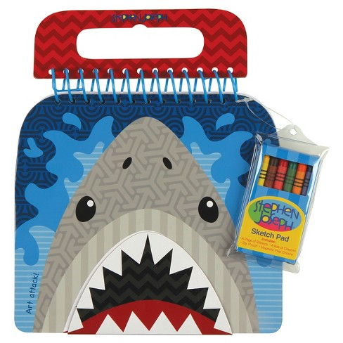 Stephen Joseph Shaped Sketch Pad - Shark - image 1 of 2