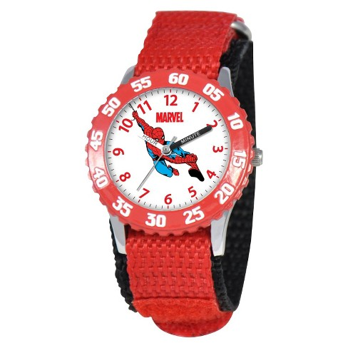 Boys' Marvel Spider-Man Watch - Red - image 1 of 6