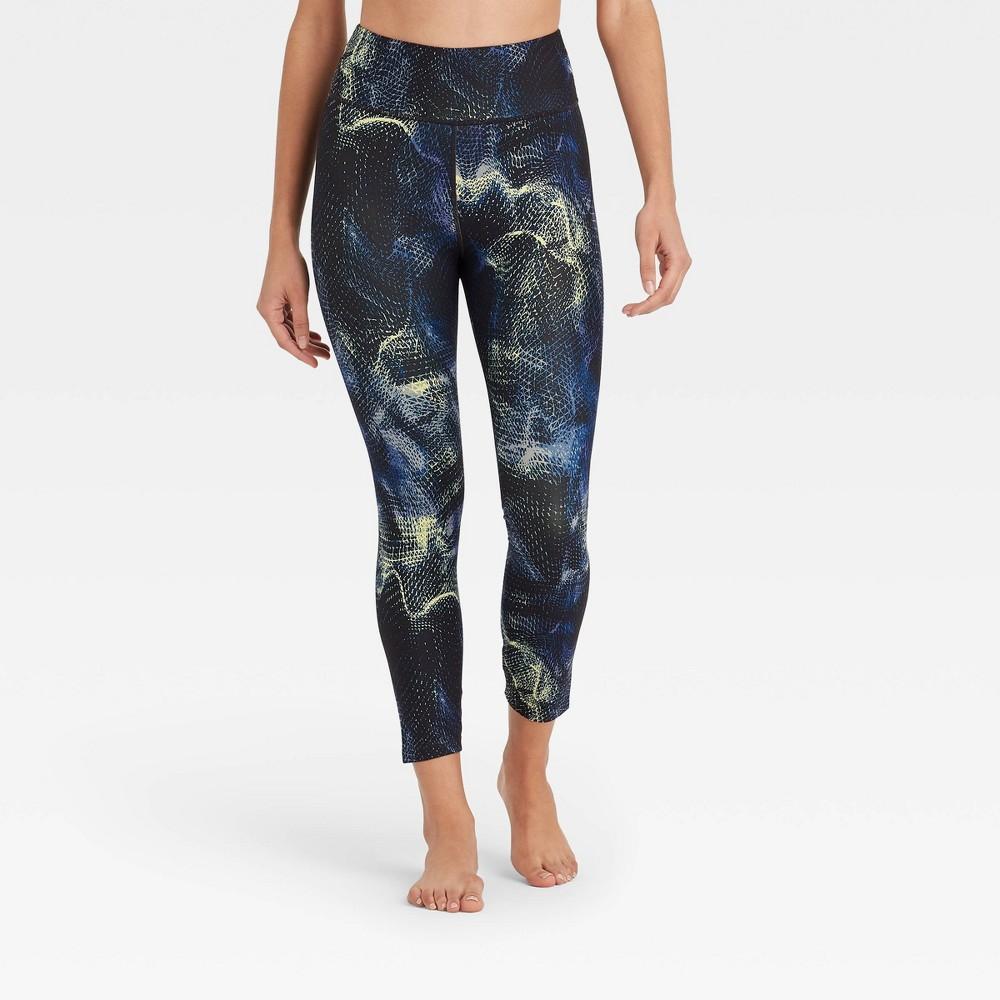 Women 39 S High Rise Printed 7 8 Leggings Joylab 8482 Galaxy Print M