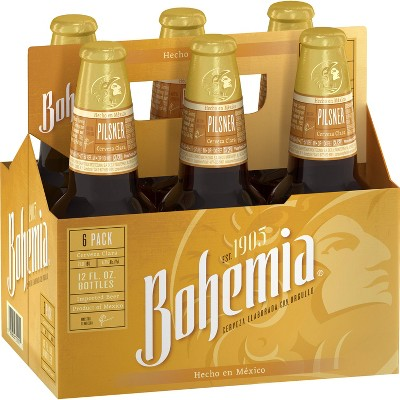 Bohemia Mexican Lager Beer - 6pk/12 fl oz Bottles
