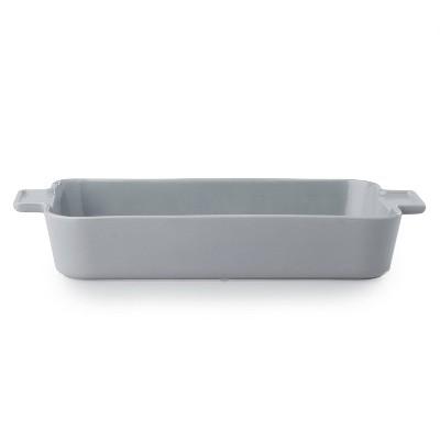 "CorningWare Modern Stoneware 10""x15"" Oblong Ceramic Baking Dish - Ash"