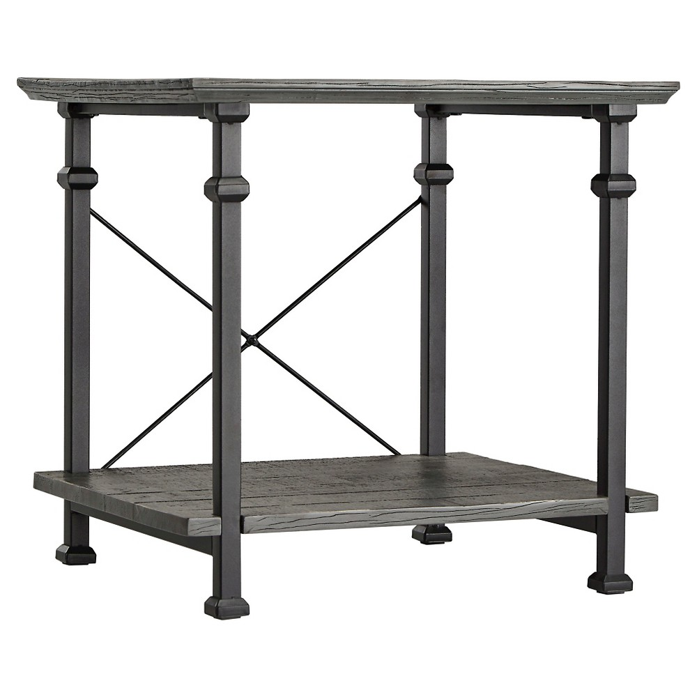 Ronay End Table - Gray - Inspire Q