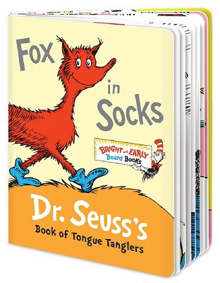 Fox in Socks: Dr. Seuss's Book of Tongue Tanglers (Bright and Early Books)by Dr. Seuss (Board Book)by Dr. Seuss