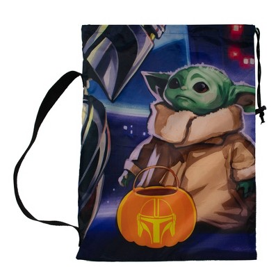 Star Wars: The Mandalorian Pillowcase Treat Bag Halloween Trick or Treat Containers
