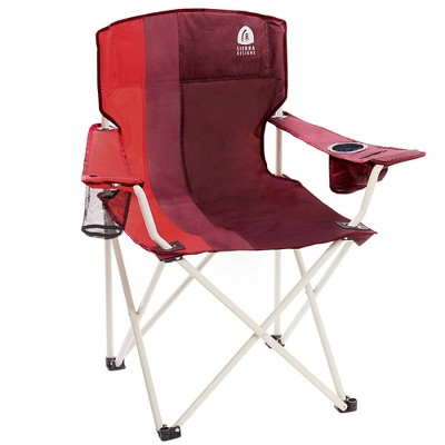 Sierra Designs Oversized Folding Chair - Red
