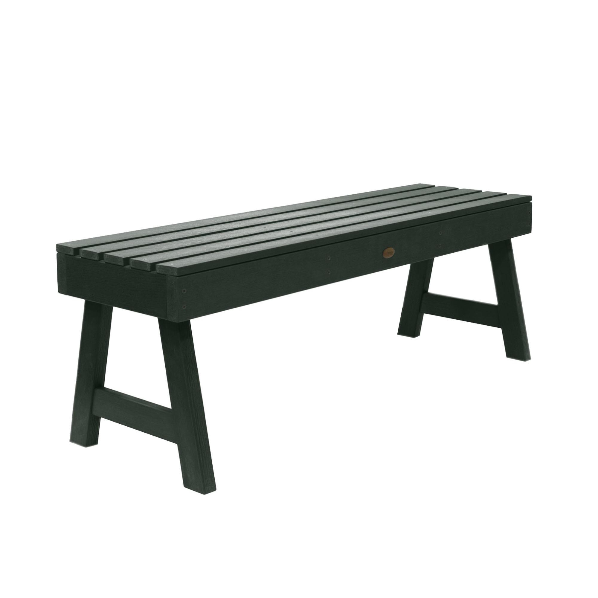 Weatherly Picnic Bench 4ft Charleston Green - Highwood