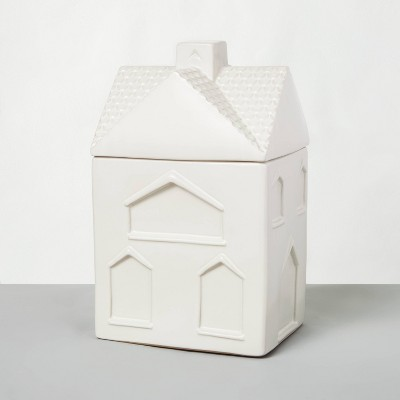 Stoneware House Cookie Jar Sour Cream - Hearth & Hand™ with Magnolia