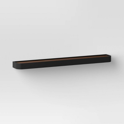 Routed Wood Wall Shelf - Threshold™
