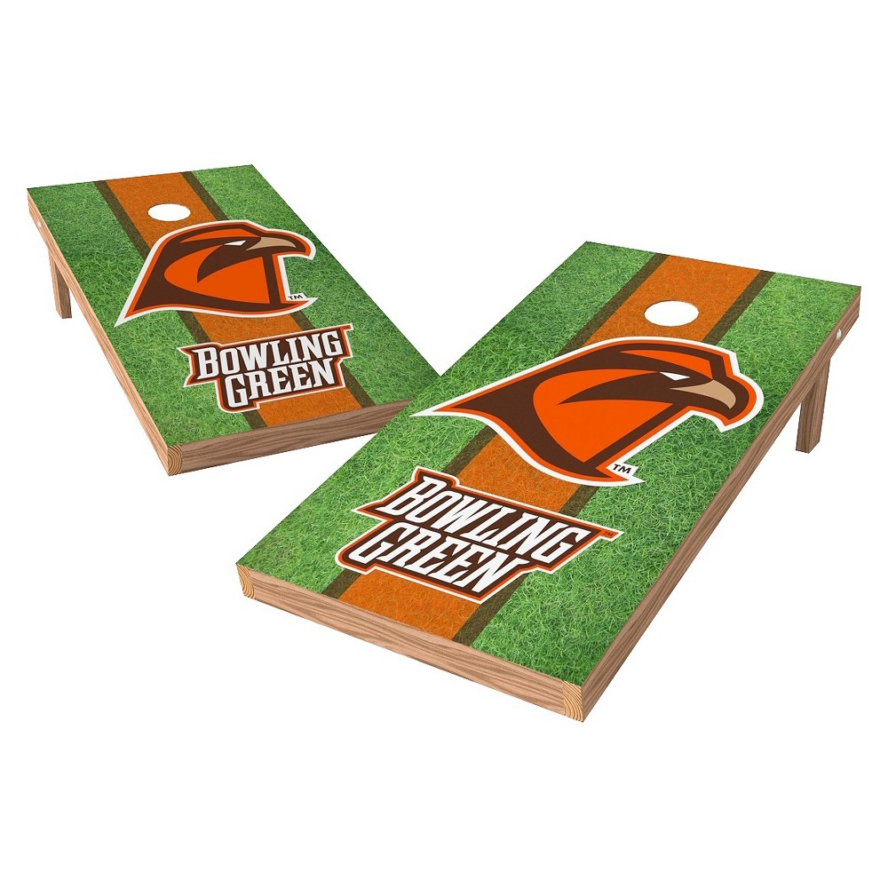NCAA Bowling Green St. Falcons Wild SportsField Design Authentic Cornhole Set - 2'X4'