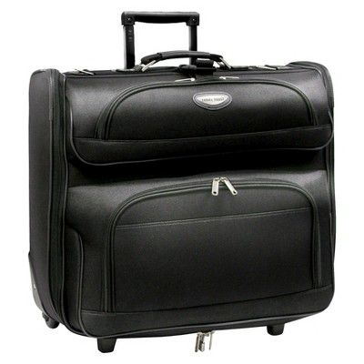 0a3bb9cbfdf Travel Select Amsterdam Rolling Garment Bag - Black
